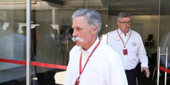 Liberty Media's Chase Carey and Ross Brawn have opinions about the future of Formula 1 that differs from that of some teams and some manufacturers. PHOTO BY LAT PHOTOGRAPHIC Read more: http://autoweek.com/article/formula-one/f1-sporting-boss-ross-brawn-we-cannot-continue#ixzz4ycKKSJU7
